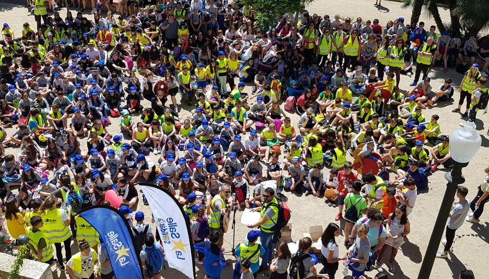 Els alumnes de La Salle Tarragona han realitzat un lipdub.