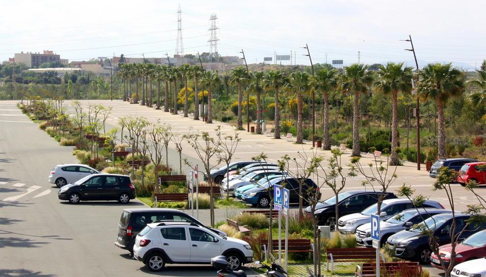 Pla general de l'avinguda principal de l'Anella Mediterrània.