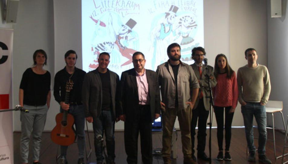 Imatge de la presentació de Litterarum Móra d'Ebre.