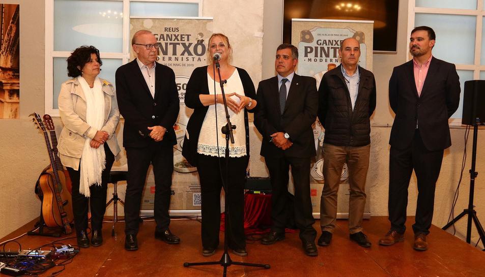 Inauguració dela ruta del Ganxet Pintxo 2019