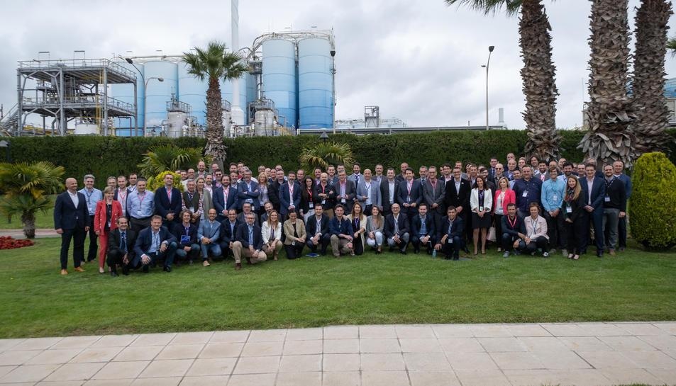 Representants de les empreses que han participat en la darrera edició dels premis de Dow.