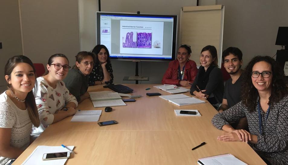 Grup d'investigació Mobiofood, de la URV.
