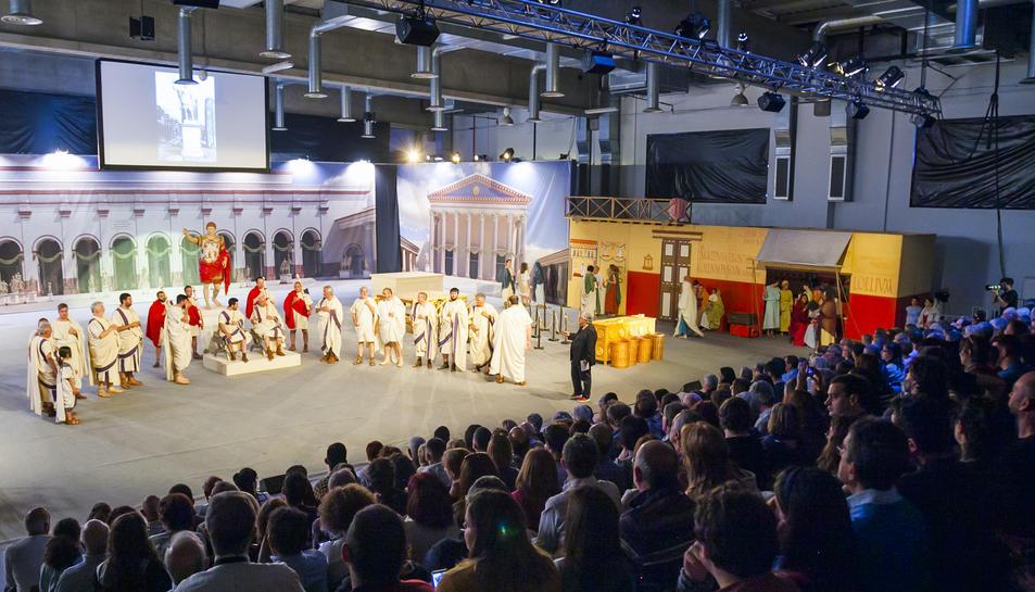 Més de 400 persones han assistit a la cloenda de la XXIa edició de Tarraco Viva.