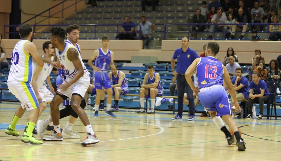 Imatge d'un instant del partit contra l'Algeciras.