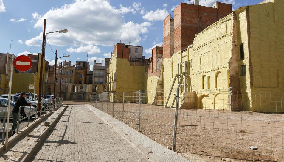 El projecte de construcció d'habitatges acabarà de definir la forma que pren el que es faci al terreny.