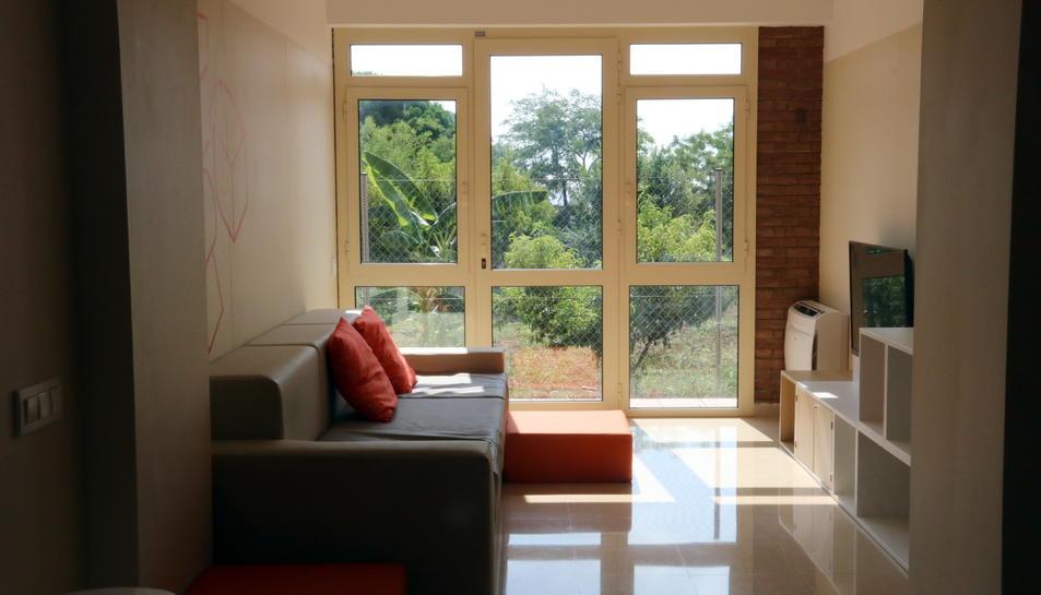 Habitació del centre residencial psiquiàtric de Barcelona, en una imatge d'arxiu.
