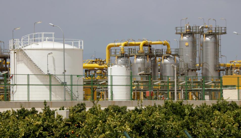 Imatge de l'exterior de la planta terrestre del projecte Castor.