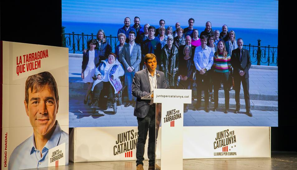 Acto central Junts per Tarragona (II)