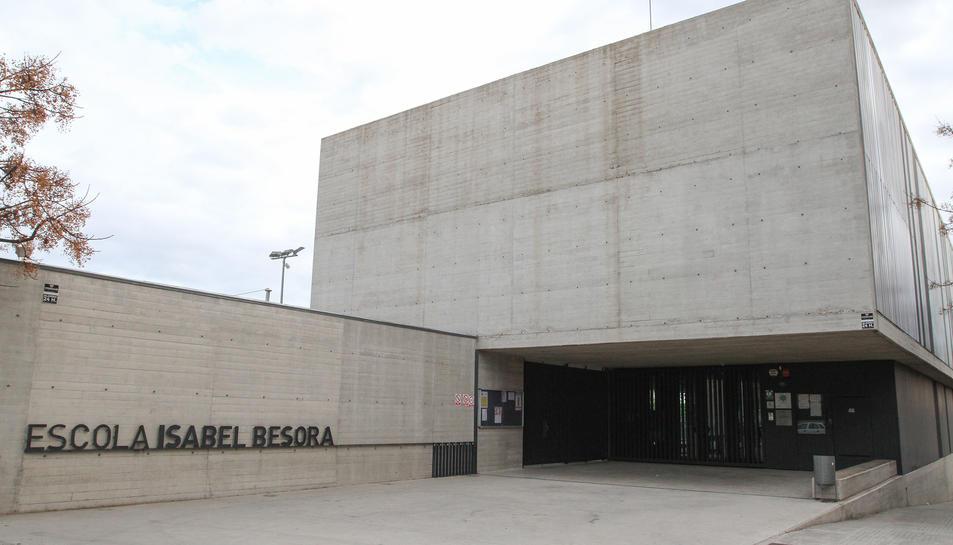 Una imatge d'arxiu de l'Escola Isabel Besora.