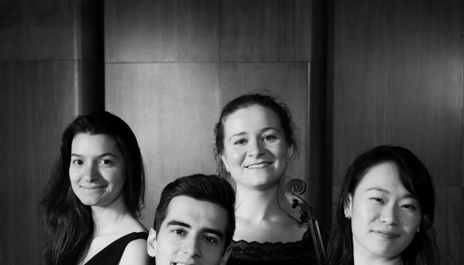 Imatge del Quartet Albèniz de Prosegur.