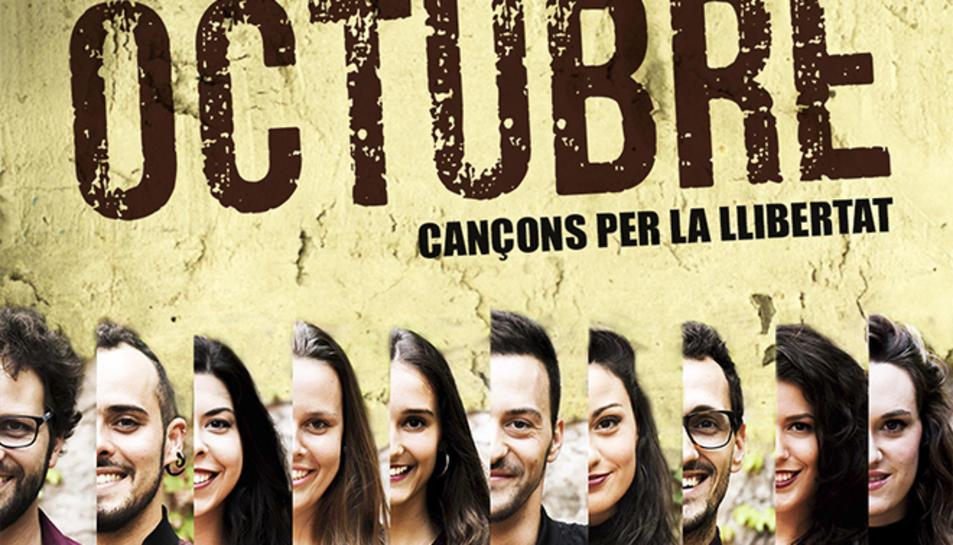 A Grup Vocal interpreta cançons d'autors catalans com Lluís Llach o Txarango en aquest espectacle.