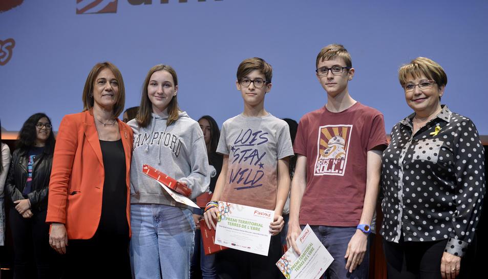 Dídac Boldó, Andreea Macovei i Jesús Monch han rebut el guardó