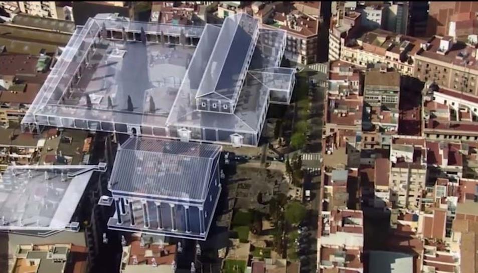 Una de les imatges del vídeo promocional de la Tarraco romana