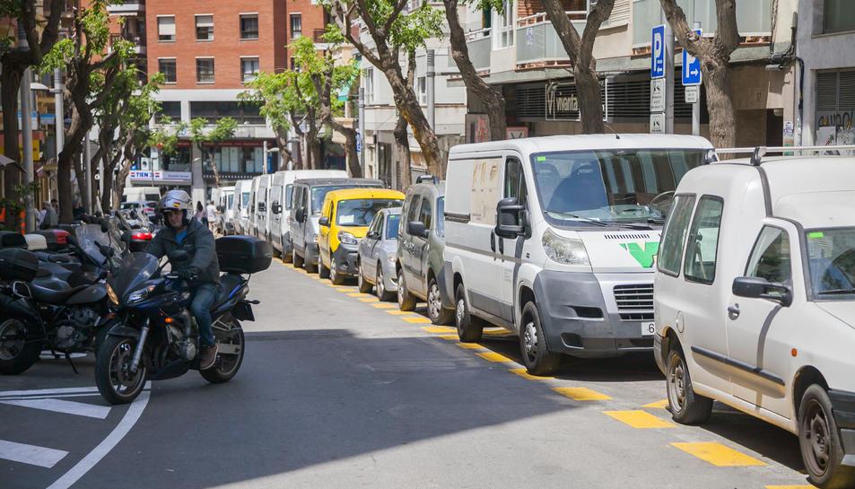 L'aparcament de motos ha canviat de costat a Reding i ha augmentat la zona per a transportistes.