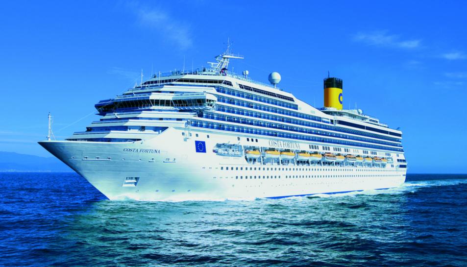 El Costa Fortuna serà el diumenge a Tarragona per inaugurar la temporada de Costa Cruceros.