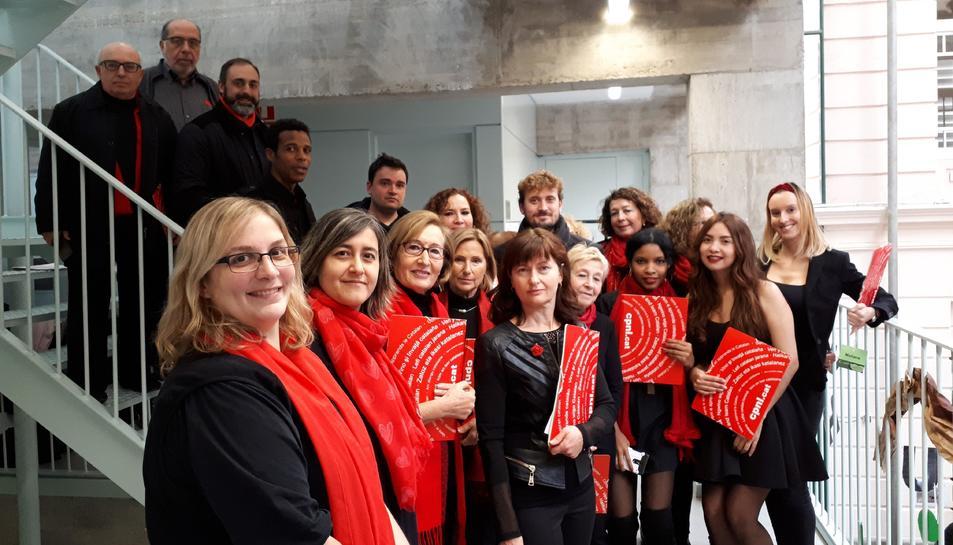 El cor ja va actuar a la capital del Baix Camp el dia 1 de desembre.