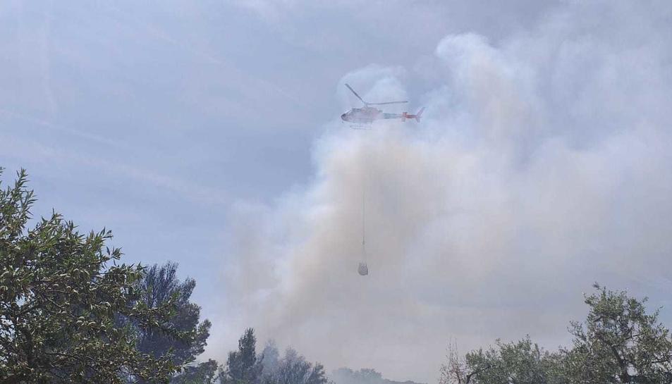 S'ha activat l'helicòpter dels Bombers.