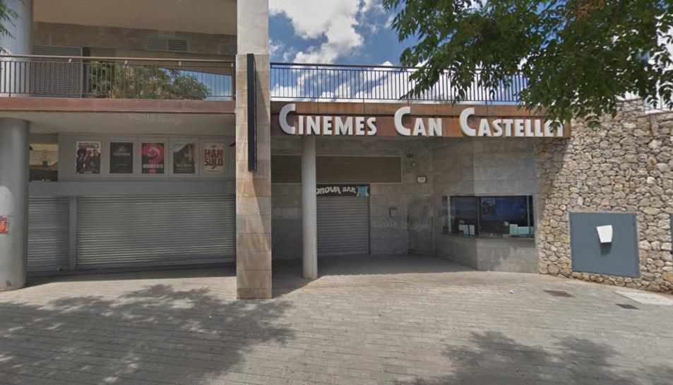 Imatge del cinema de Sant Boi de Llobregat.