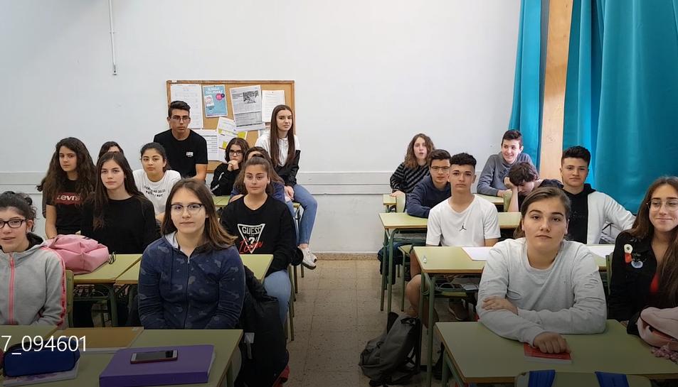 Els alumnes del Martí i Franquès han realitzat un projecte sobre la violència de gènere.