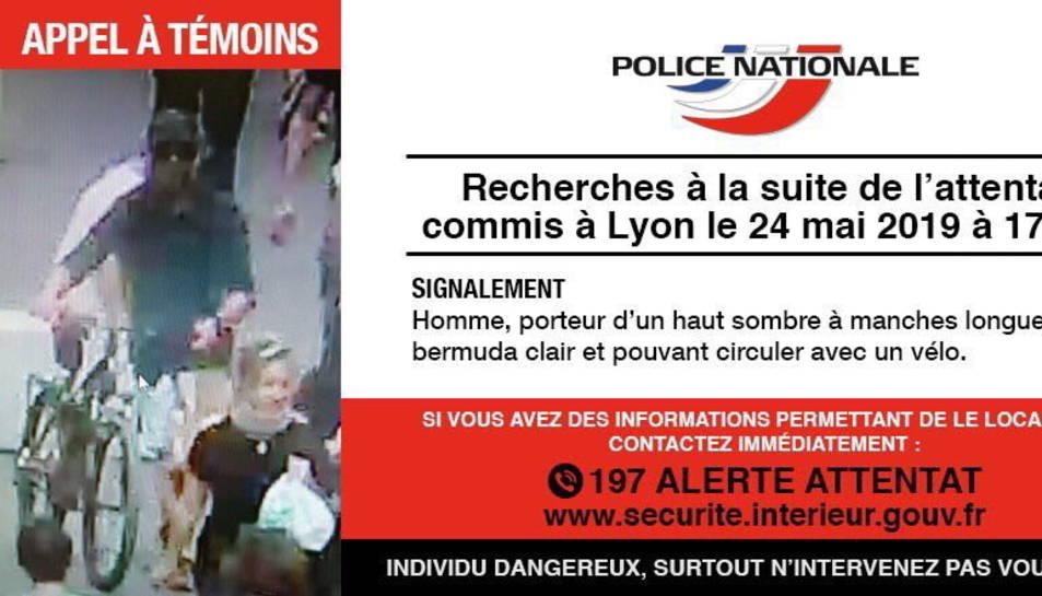 Imatge difosa per la policia francesa.