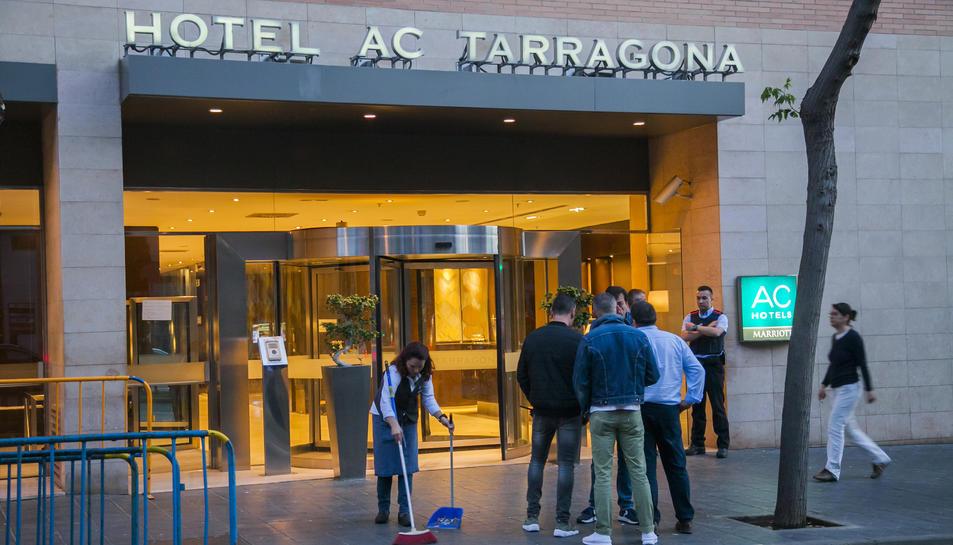 Imatge de l'exterior de l'hotel AC Tarragona.