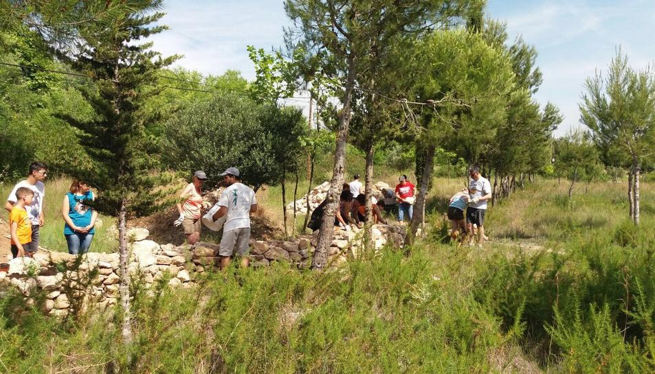 La jornada compta amb tallers i activitats que pretenen conscienciar de la necessitat de tenir cura del medi natural.
