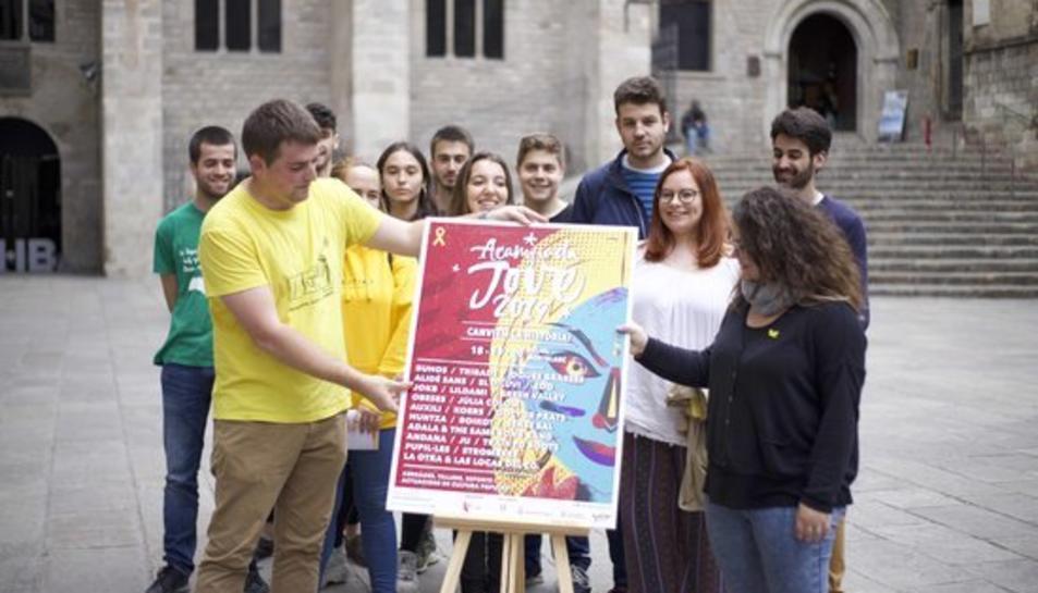 Els responsables de l'Acampada Jove revelen el cartell de l'edició del 2019 el 28 de maig.
