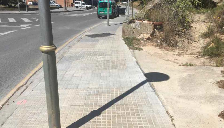 A la Vall de l'Arrabassada s'han fet diverses reparacions de voreres.