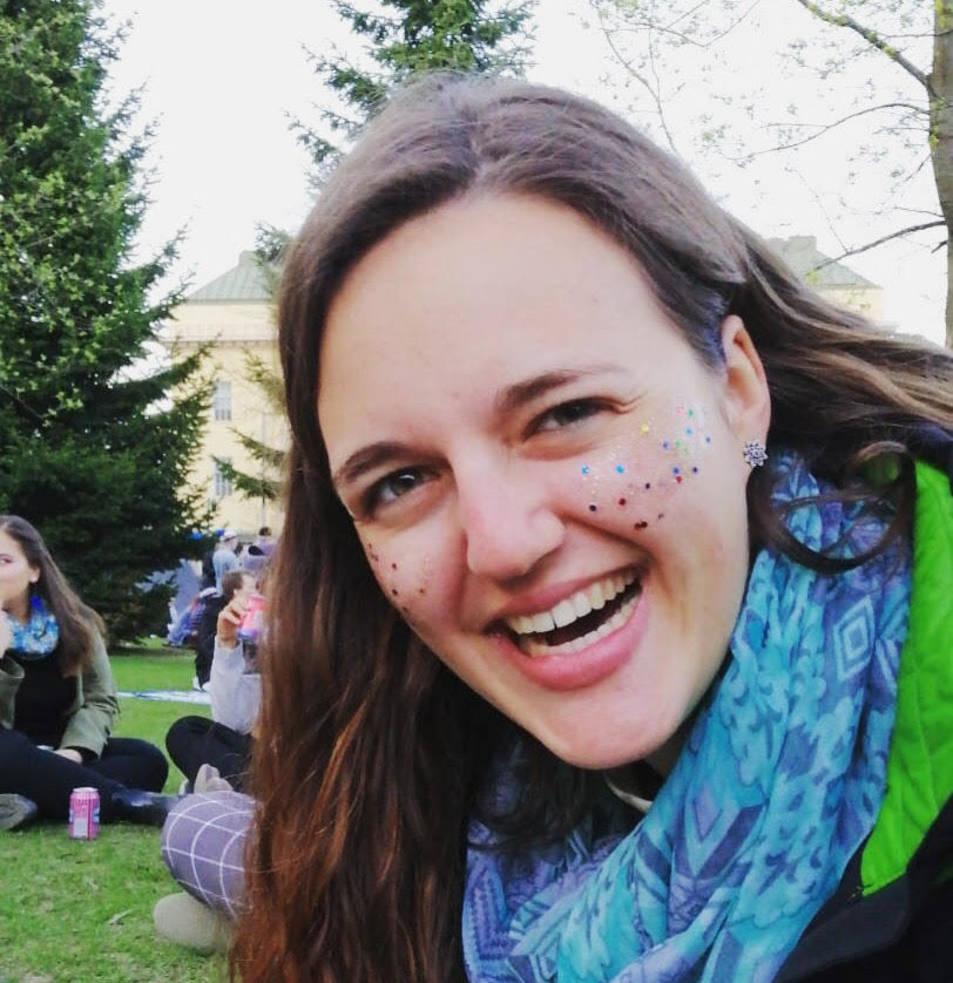 Èlia Climent, té 22 anys i està estudiant a Finlàndia.