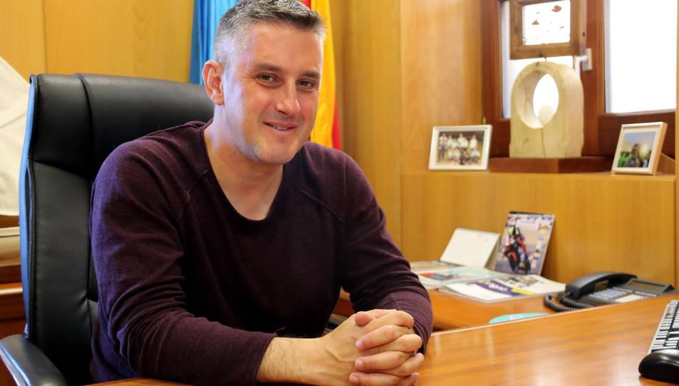 L'alcalde de Calafell en funcions i guanyador de les eleccions municipals amb el PSC, Ramon Ferré,