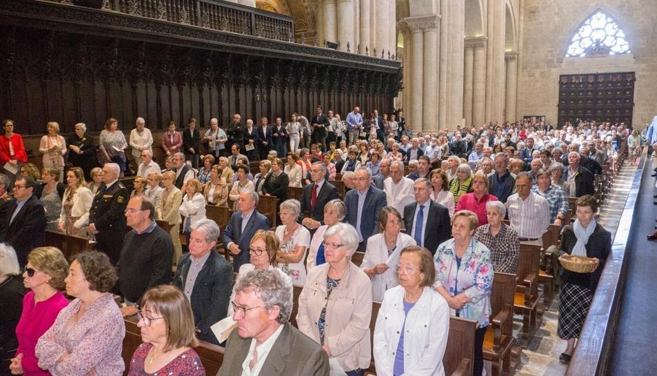 La solemne missa de comiat de Jaume Pujol