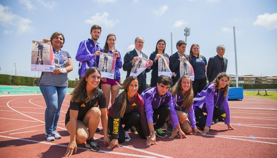Alguns dels atletes que participaran en els campionats
