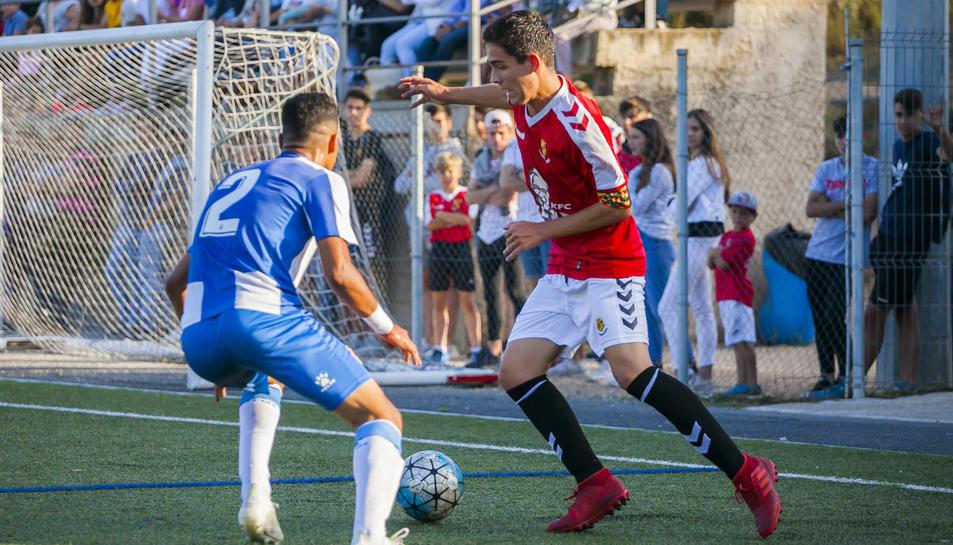 El partit Nàstic-Espanyol de cadets (1)