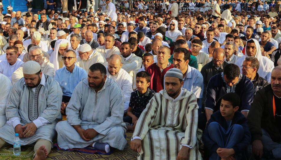 Final del Ramadán en Reus