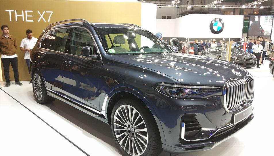 La marca BMW presentava el seu buque insignia, el X7.