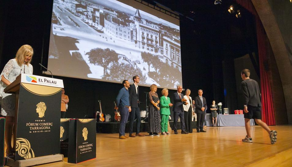 Acte de lliurament dels Premis Fòrum Comerç 2019