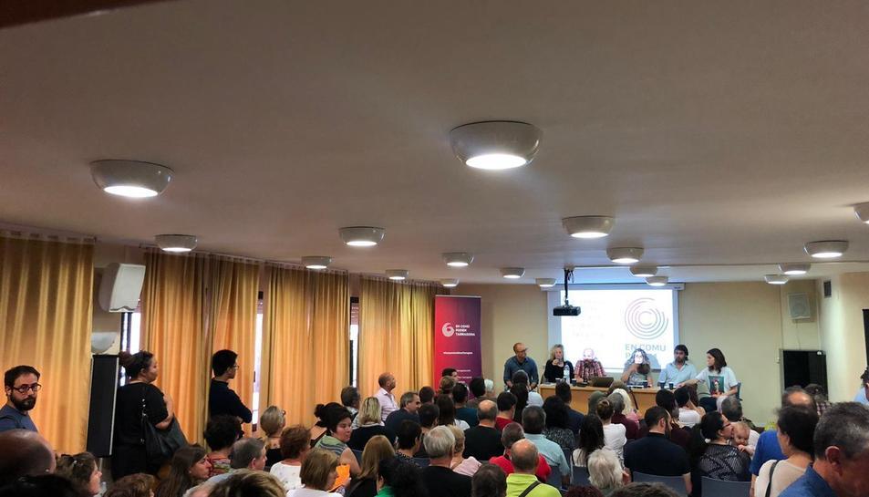 Imatge de l'assemblea d'En Comú Podem Tarragona.