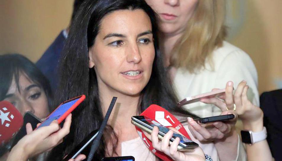 Rocío Monasterio, candidata de VOX a la Comunitat de Madrid.