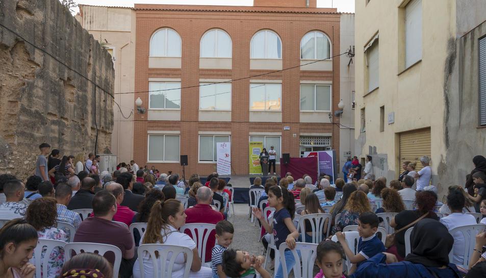La festa de cloenda va tenir lloc el passat divendres a la plaça de l'Hospital.