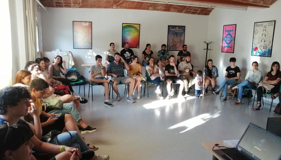 Divendres es va realitzar una sessió formativa