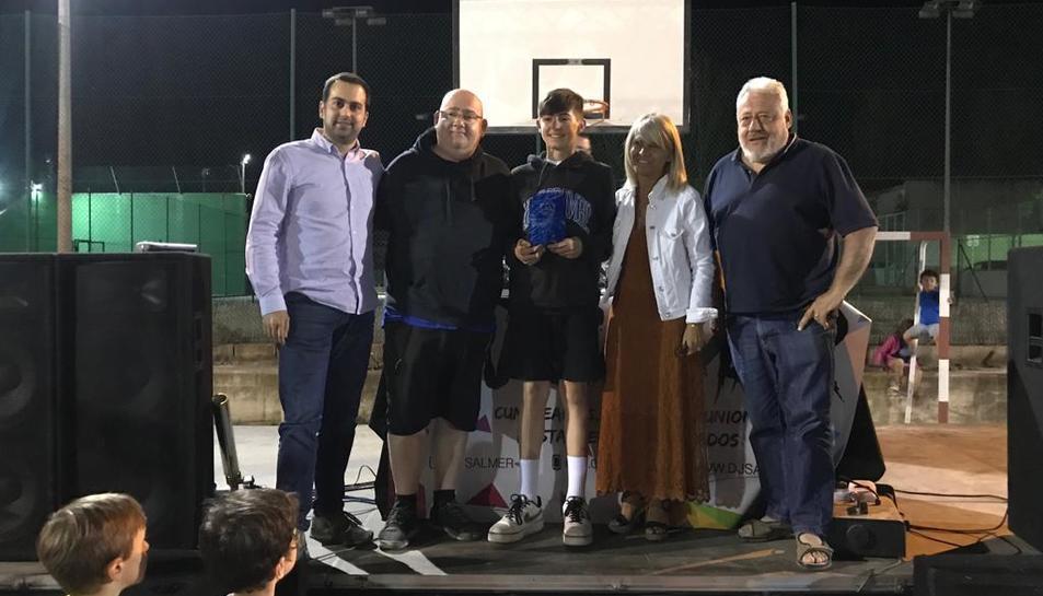 Des del Club Bàsquet Morell es va reconèixer el jugador infantil Edgar Moure Colombo, que actualment juga al Barça.
