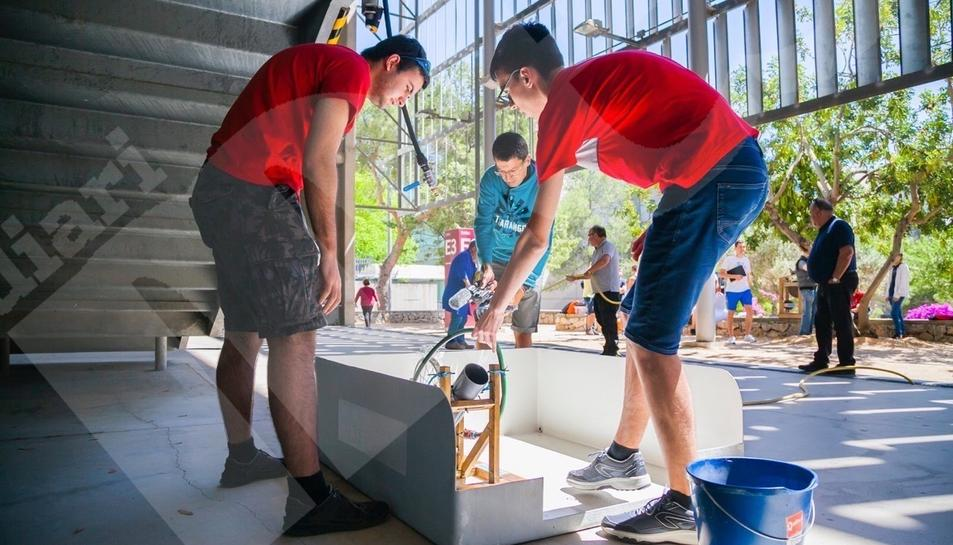 Competició estudiants d'Enginyeria Mecànica URV