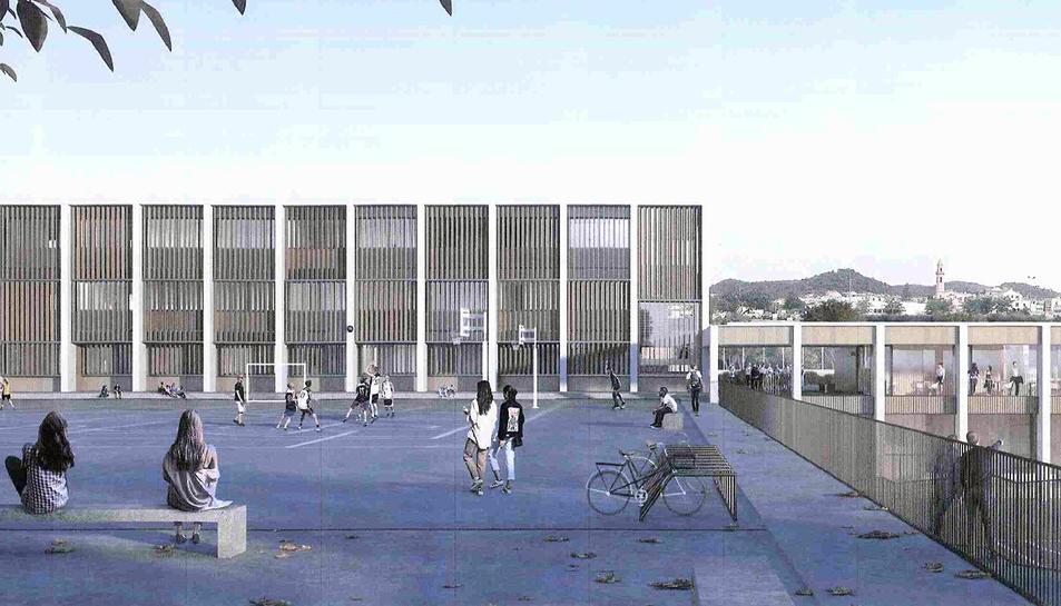 Per al nou edifici, la Generalitat invertirà 5.515.361 euros.