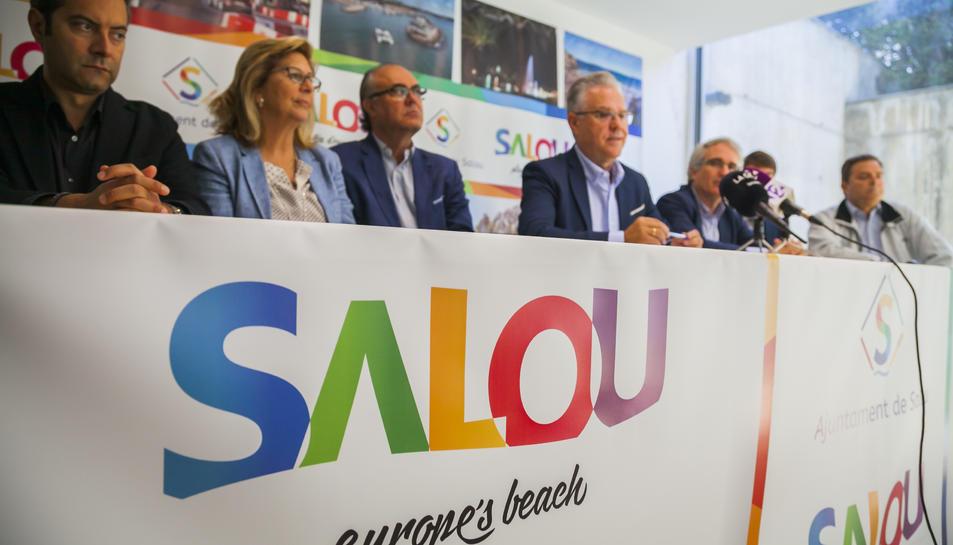 Granados ha presentat aquest dimecres la seva aposta per governar Salou en solitari.