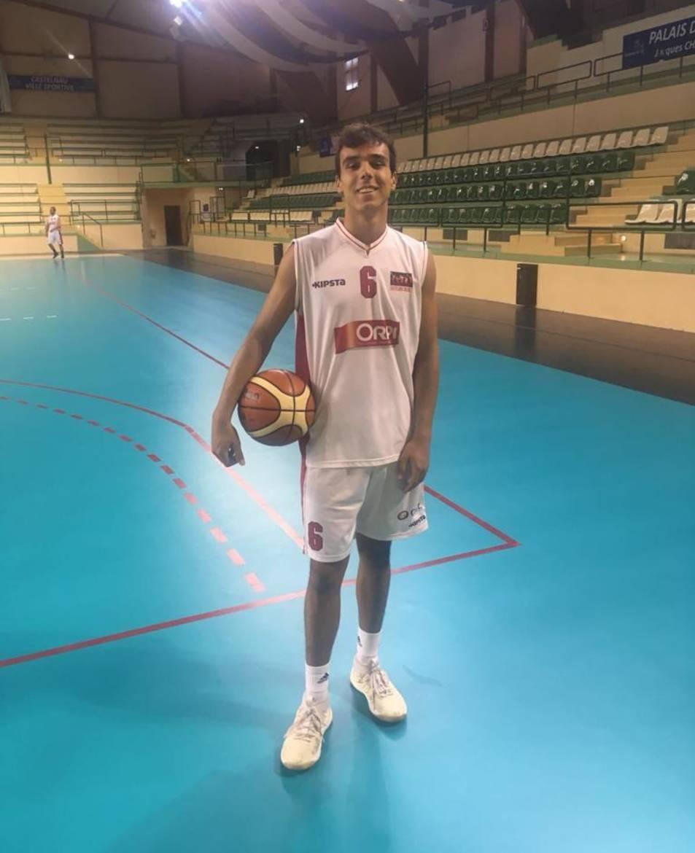 Rubén Llanos té el bàsquet com a la seva màxima passió.