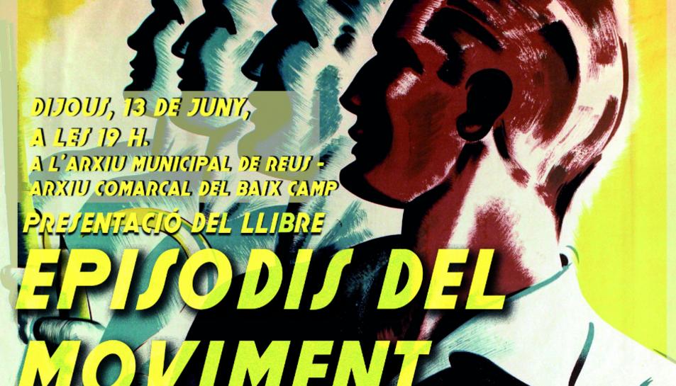 Imatge del cartell de la presentació del llibre.