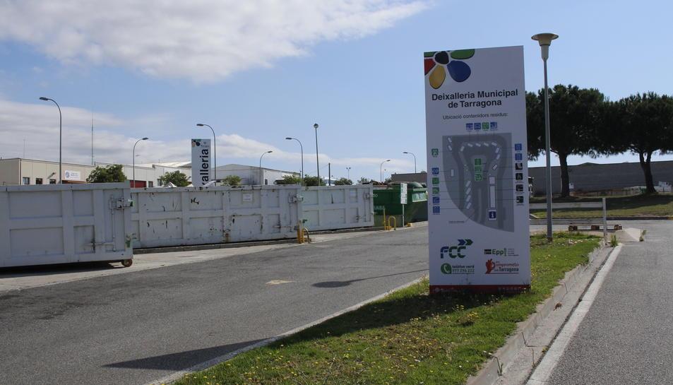 Imatge de la deixalleria municipal de Tarragona.