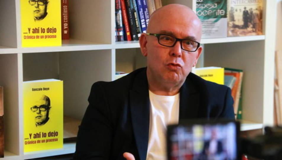 Imatge d'arxiu de l'advocat de l'expresident Carles Puigdemont i autor del llibre 'Y ahí lo dejo. Crónica de un procés', Gonzalo Boye.