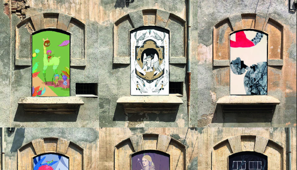 Les protagonistes són les il·lustradores, amb un total de nou artistes que exposaran la seva obra.