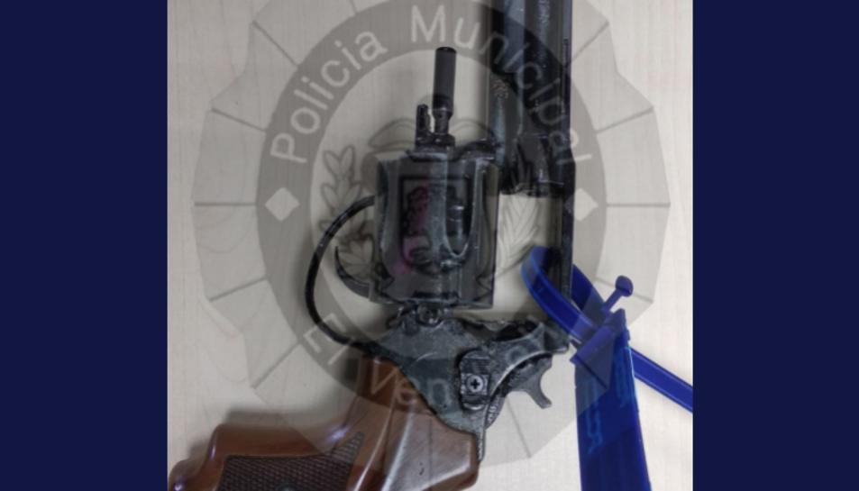 Imatge de l'arma intervinguda.